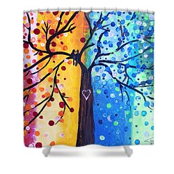 Two Moments Shower Curtain