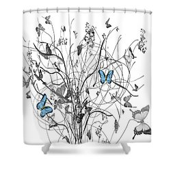 Two Of A Kind  Shower Curtain by Sladjana Lazarevic