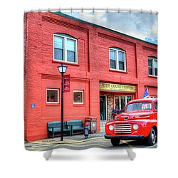 Two Old Classics Shower Curtain by Dale R Carlson