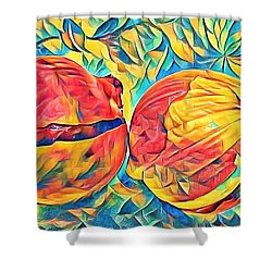 Two Onions Shower Curtain