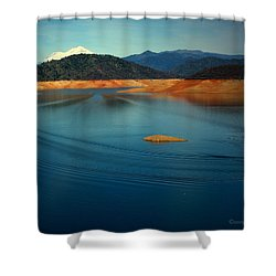 Two Shastas Shower Curtain by Joyce Dickens