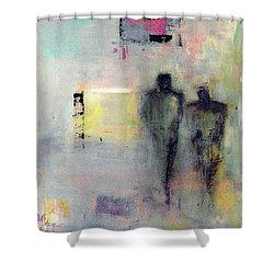 Two Walk Alone Shower Curtain