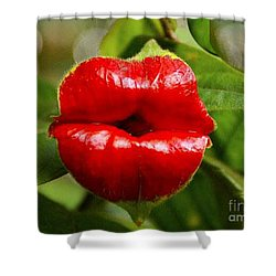 Twolips  - Floral Oddity Shower Curtain