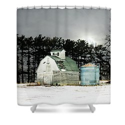 Shower Curtain featuring the photograph Twos Company by Julie Hamilton