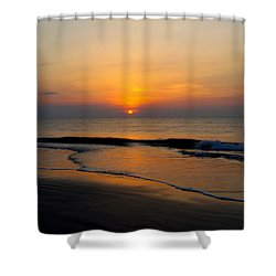 Tybee Calm Shower Curtain