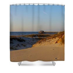 Tybee Dunes Shower Curtain