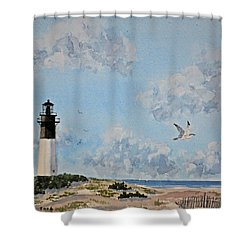 Tybee Light Savannah Shower Curtain