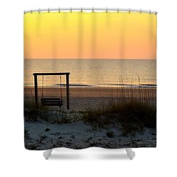 Tybee Swing Shower Curtain