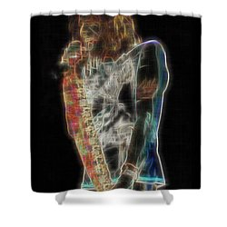 Tyler Shower Curtain by Kenneth Armand Johnson