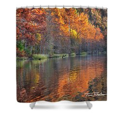 Tyler Lake Shower Curtain