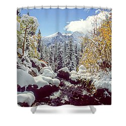 Tyndall Creek Shower Curtain by Eric Glaser