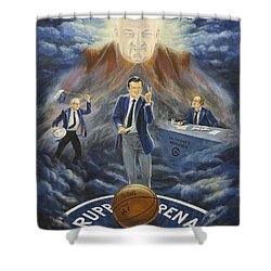 U Of K Tradition Shower Curtain