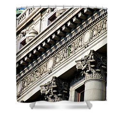 U S Custom House 2 Shower Curtain