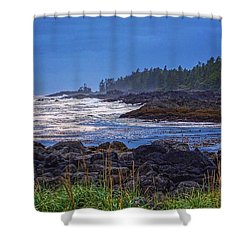 Ucluelet, British Columbia Shower Curtain by Heather Vopni