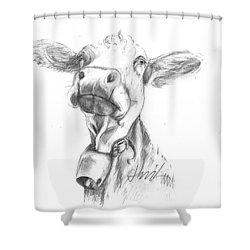 Udderly Fine  Shower Curtain