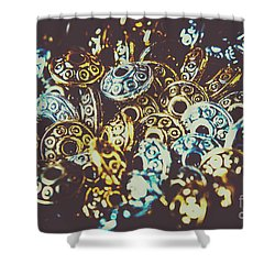 Ufo Flying Saucers Shower Curtain