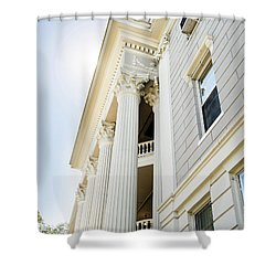 Shower Curtain featuring the photograph Uga Beauty by Parker Cunningham
