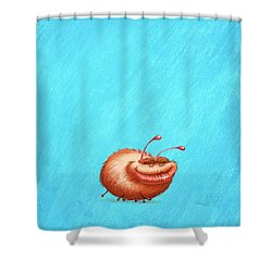 Ugly Bug Shower Curtain by Andy Catling