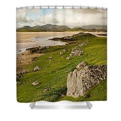 Uig Sands - Isle Of Lewis Shower Curtain