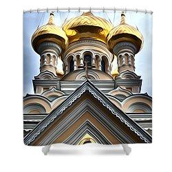 Ukrainian Church Shower Curtain