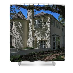 Shower Curtain featuring the photograph Ul Alum House by Gregory Daley  PPSA