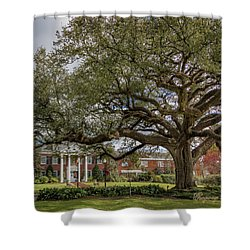 Shower Curtain featuring the photograph Ul President Home 01 by Gregory Daley  PPSA