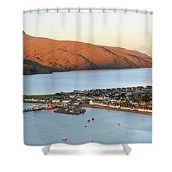 Ullapool Morning Light Shower Curtain by Grant Glendinning