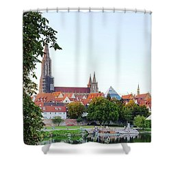 Ulm Minster Shower Curtain