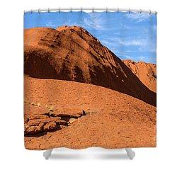 Shower Curtain featuring the photograph Uluru 04 by Werner Padarin