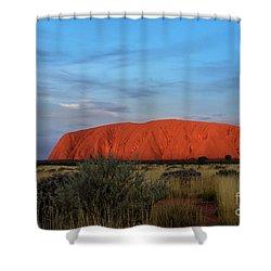 Uluru Sunset 03 Shower Curtain