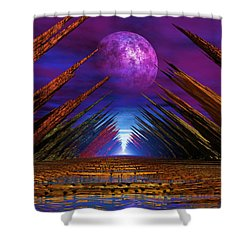 Ulvio Night Shower Curtain