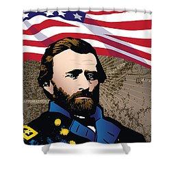 Ulysses S. Grant At Appomattox Shower Curtain