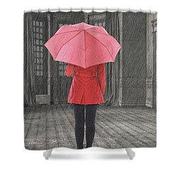 Umbrella Shower Curtain