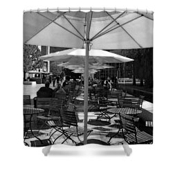 Shower Curtain featuring the photograph Umbrella's by Joanne Coyle
