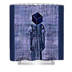 Unacknowledged Shower Curtain by Vennie Kocsis