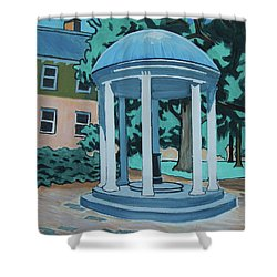 Unc Old Well Shower Curtain