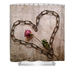 Unchain My Heart Shower Curtain