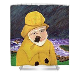 Uncle Bunk Shower Curtain by Thomas Blood