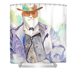 Uncle David Nation, Circa 1900 Shower Curtain