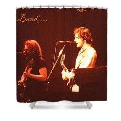 Shower Curtain featuring the photograph Come Hear Uncle John's Band by Susan Carella