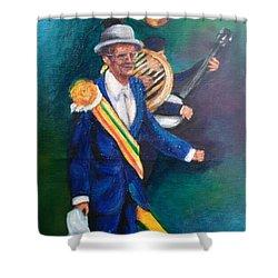 Uncle Lionel Shower Curtain