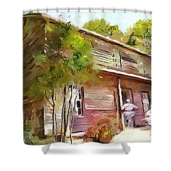 Uncle Tom's Cabin Shower Curtain