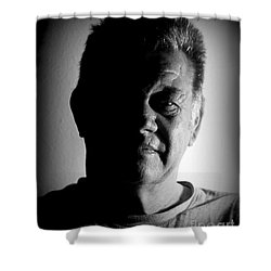 Shower Curtain featuring the photograph Undecided by Myrna Bradshaw