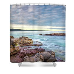 Under Eden Skies Shower Curtain