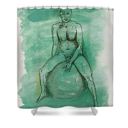 Under Pressure Shower Curtain