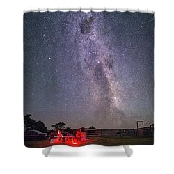Under Southern Stars Shower Curtain