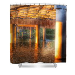 Under The Boardwalk Shower Curtain