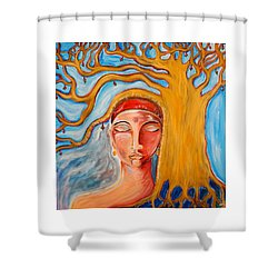 Under The Bodhi Tree Shower Curtain