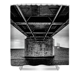 Under The Bridge Shower Curtain
