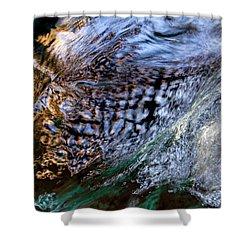 Shower Curtain featuring the photograph Under The Bridge by Rico Besserdich